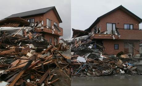 FPの家 災害に耐えた家実例